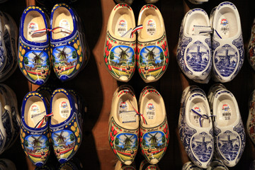 Typical dutch shoes