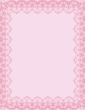 pink certificate background, illustration poster