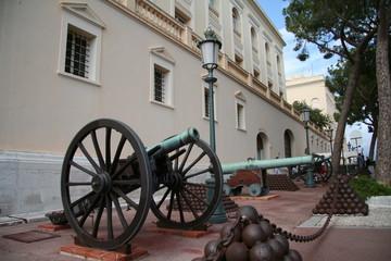 Des canons de Monaco