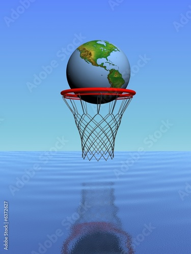 earth in the basket