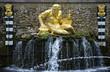 Leinwanddruck Bild - peterhof fountain