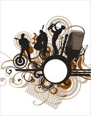 Music concert - brown