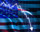 American recession poster