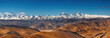 Panorama with Everest and Cho Oyu mountain