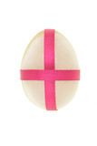 Decorated egg shaped semi precious stone for Easter  poster