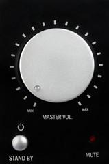 Loudspeaker close up. Sound concept.