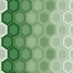 Green abstract as seamless pattern