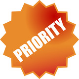 p priority poster
