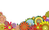 Flower foreground poster