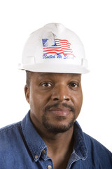 Black American Construction Worker