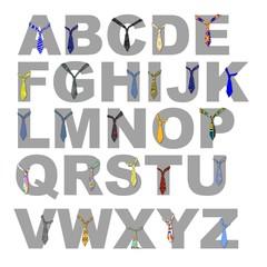 alfabeto_incravattato