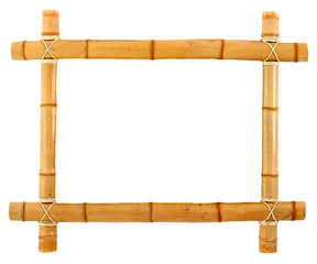cadre bambou naturel