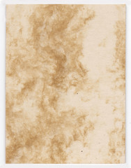 Coffee paper made from natural coffee fibres.