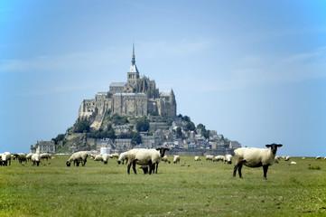 Mont Saint Michel with