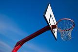 basket ball panier filet sport terrain street poster
