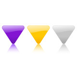 color triangular icon 2 poster