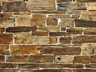 old stone wall exterior