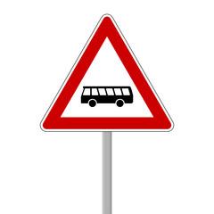 verkehrszeichen bus