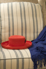 Red Hat in Chair