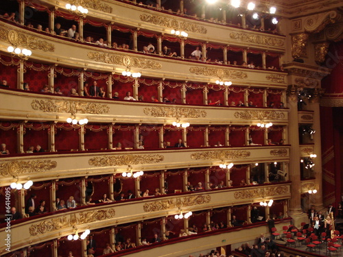 Papiers peints Opera, Theatre La Scala glamour