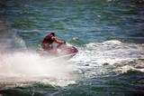 High Speed Jet Skier poster