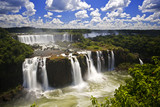 Fototapety Iguassu Falls is the largest series of waterfalls on the planet,