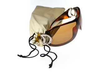 Isolated sunglasses