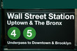 Wall Street subway station - 6422608