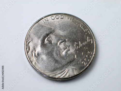 Coins-Thomas Jefferson Nickel