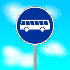 verkehrszeichen omnibus