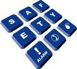 Safety buttons poster