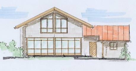 Einfamilienhaus Ansicht