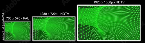pal vs hdtv con immagine
