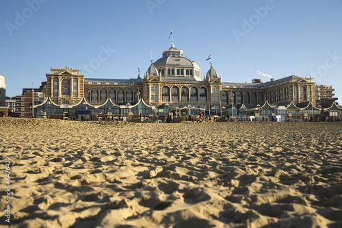 Kurhaus is landmark Holland in Scheveningen - 6426422