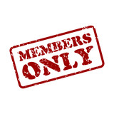 stempel members only poster