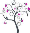 vecteur série - arbre de printemps vectoriel
