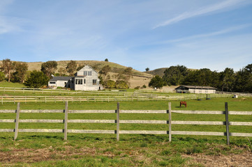 Ranch near Pescadero, California