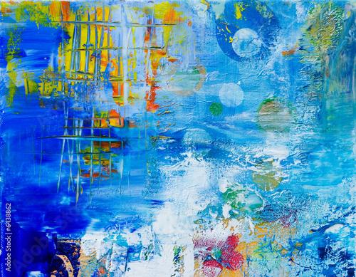 Leinwandbilder,hintergrund,blau,malerei,colour