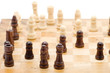 object on white: game - chess macro
