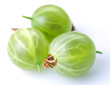 gooseberry; object on a white background