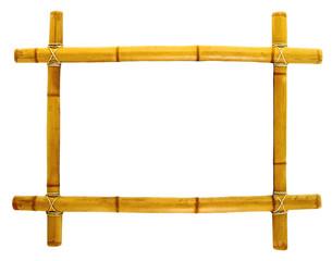 Cadre de tableau en bambou