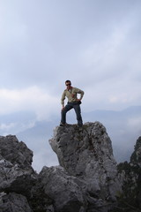 in montagna