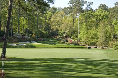 Leinwanddruck Bild 12th Hole at Augusta national