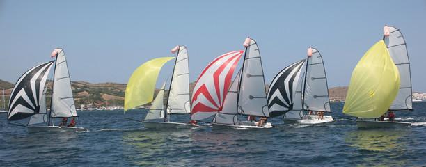 Bay of Fornells Sailing Regatta, Minorca, Spain