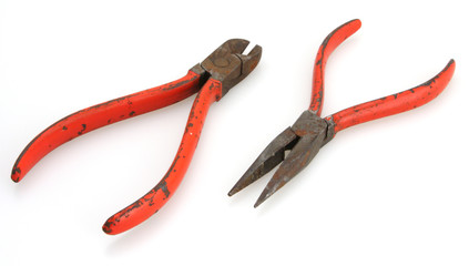 1950's or 60's Red Handled Tools