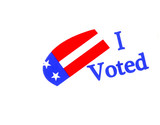 Image of a Symbol to Encourage Vote in America poster
