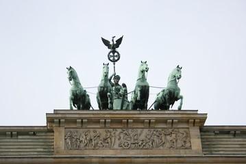 Brandenburger Tor mit Quadriga