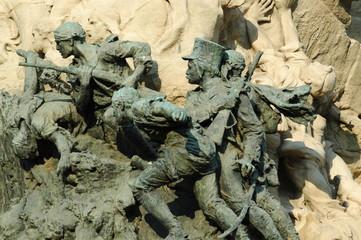 Estatuas de soldados