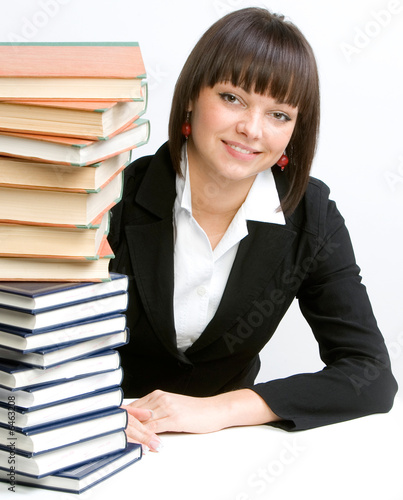women with books