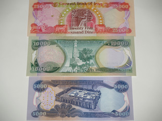 40000 Iraqi Dinar